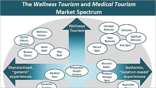 Wellness Tourism Market Spectrum